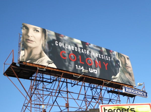 Colony series launch billboard
