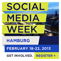 Logo der Social Media Week Hamburg 2013