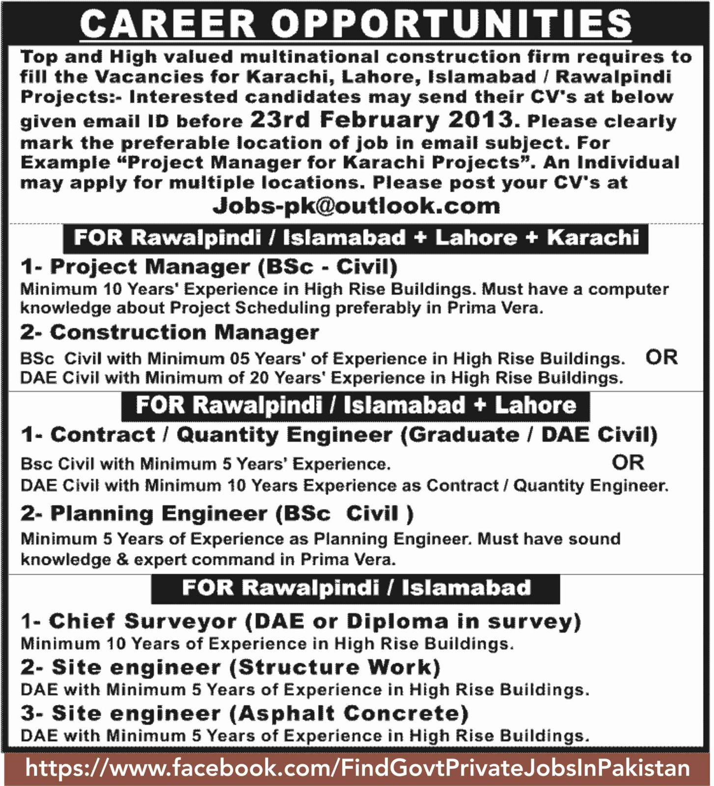 carieer opportunity in sunday jang