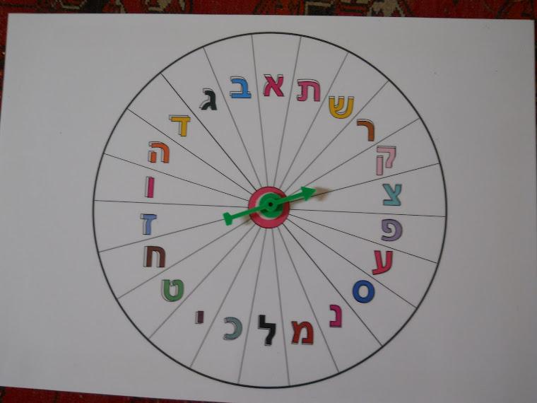 """רולטה """"אב"""" מתאימה לכל נושא לימודי:השפה העברית, חגים לאורך השנה, טבע, בעלי חיים, ארצות, איכות הסביבה"""