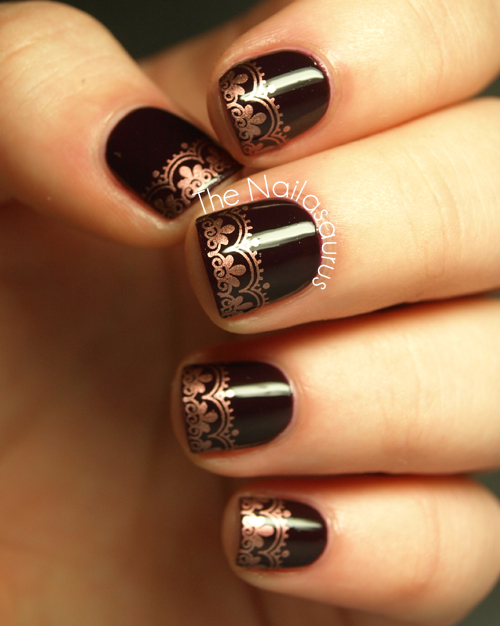 Snippet copper tips the nailasaurus uk nail art blog snippet copper tips prinsesfo Choice Image