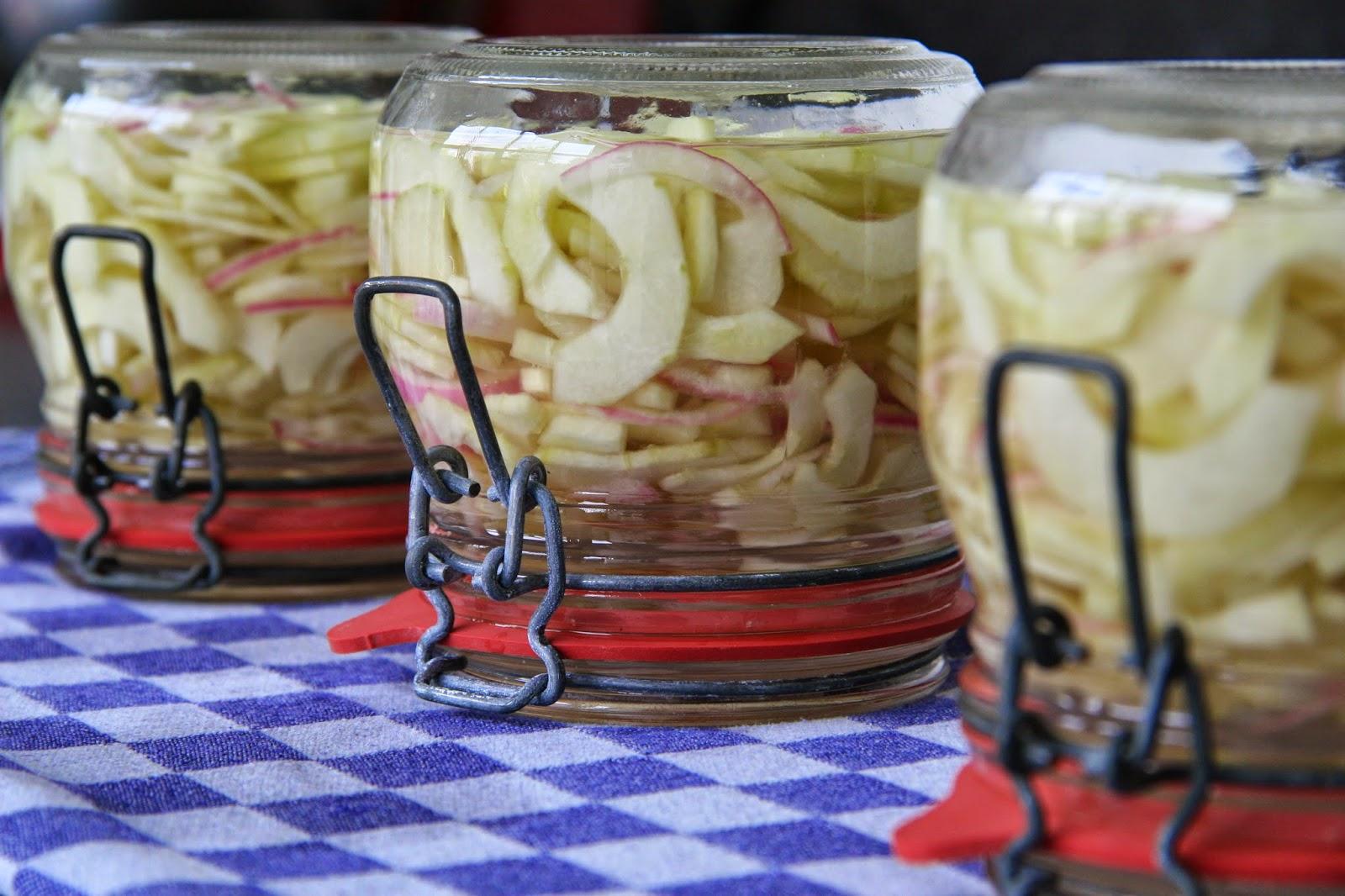 De keuken van johanna pittige komkommer in zoetzuur - De komkommers ...