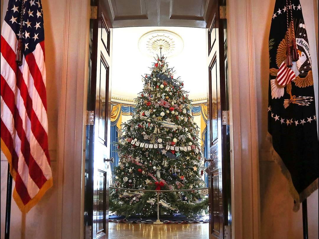 Witte Kerst Huis : The culture connection kerst in het witte huis