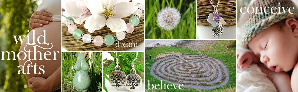 Fertility Bracelets & Infertility Jewelry by Wild Mother Arts | Dream ~ Believe ~ Conceive