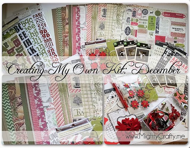 Creating My Own Kit: December -- www.MightyCrafty.me
