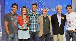 Paco León, Pepe Viyuela, Ana Polvorosa, Christian Gálvez en 'Pasapalabra'