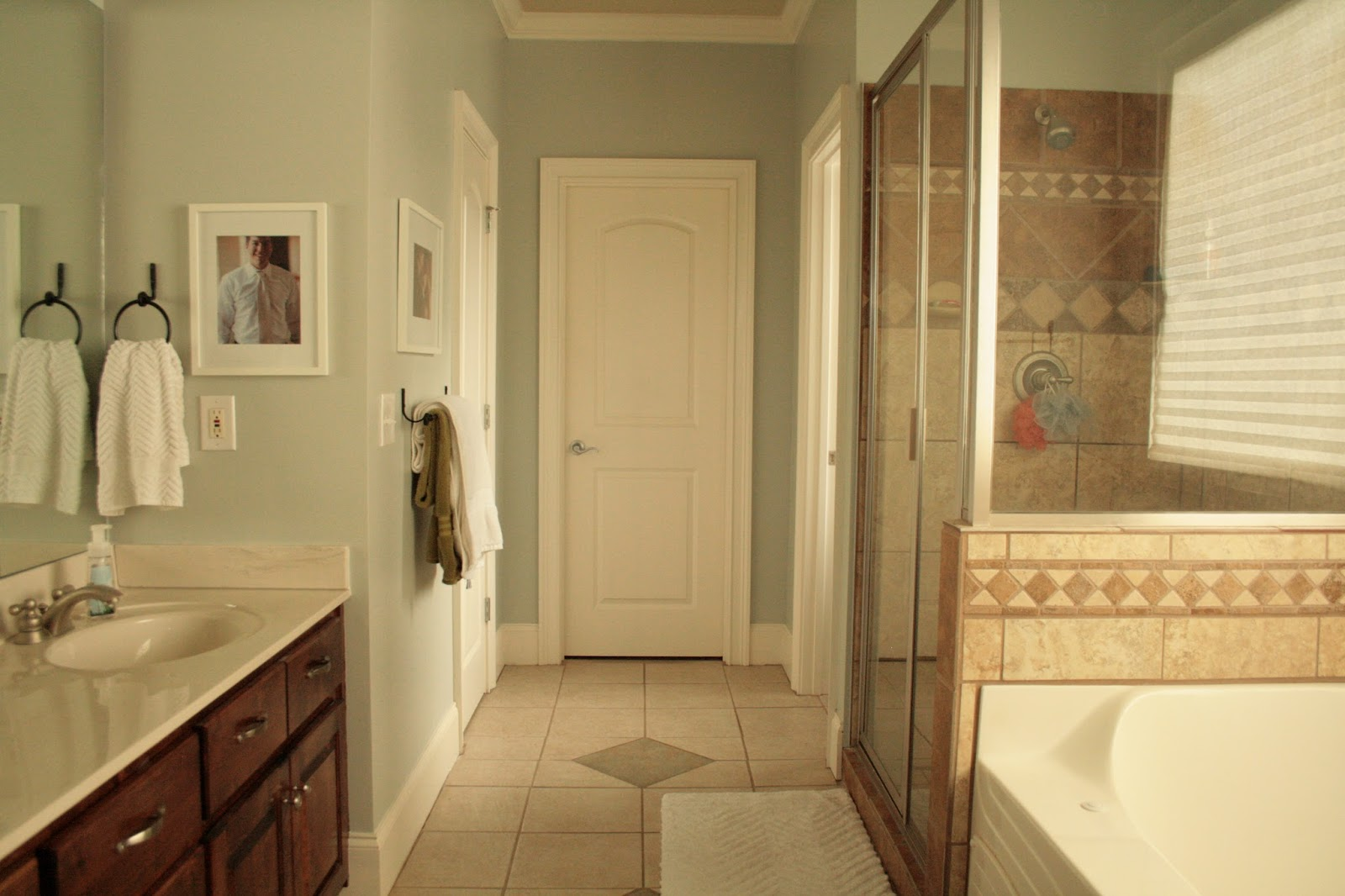 The bozeman bungalow painting the master bathroom for Master bathroom paint
