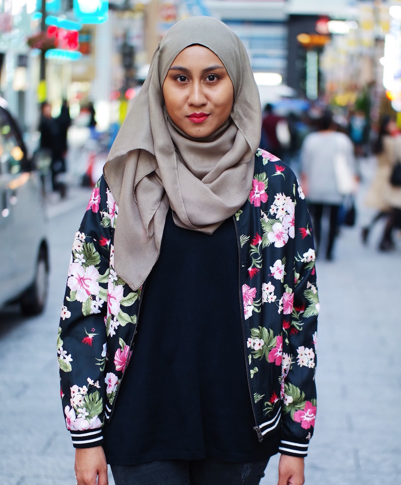 Floral Bomber Jacket (PS: Did You Know, Hibiscus Is Malaysia's ...
