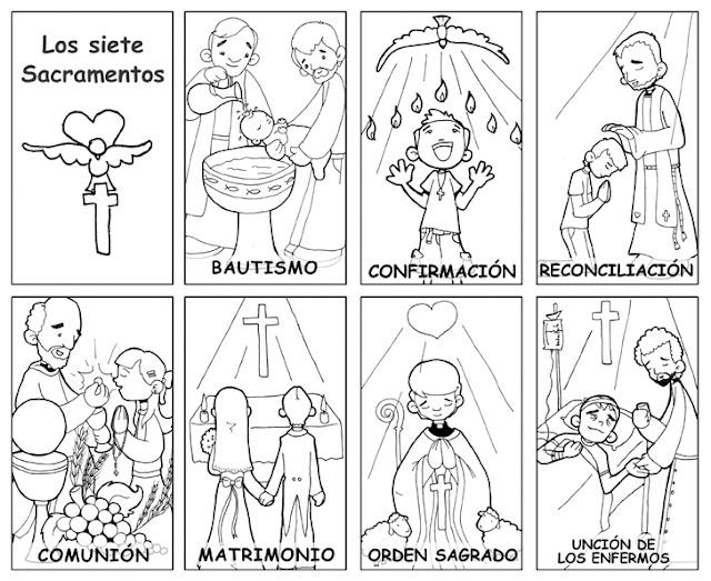 Los 7 sacramentos | Blog de los Recursos de JESUS MARIA