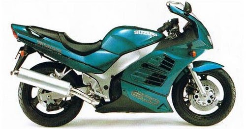 Owner Manual  1994 Suzuki Rf600r Wiring Diagram