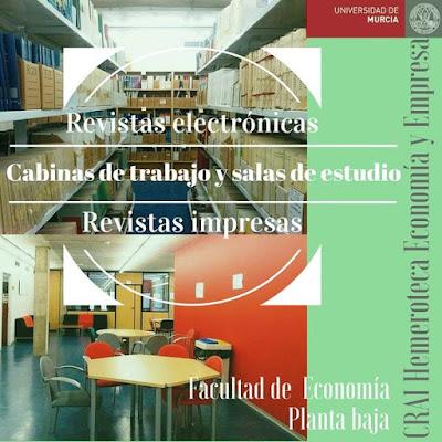 """""""Conócenos 7"""" CRAI Hemeroteca Economía y Empresa"""