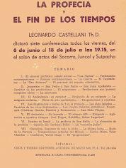 La profecía y el fin de los tiempos - Padre Castellani