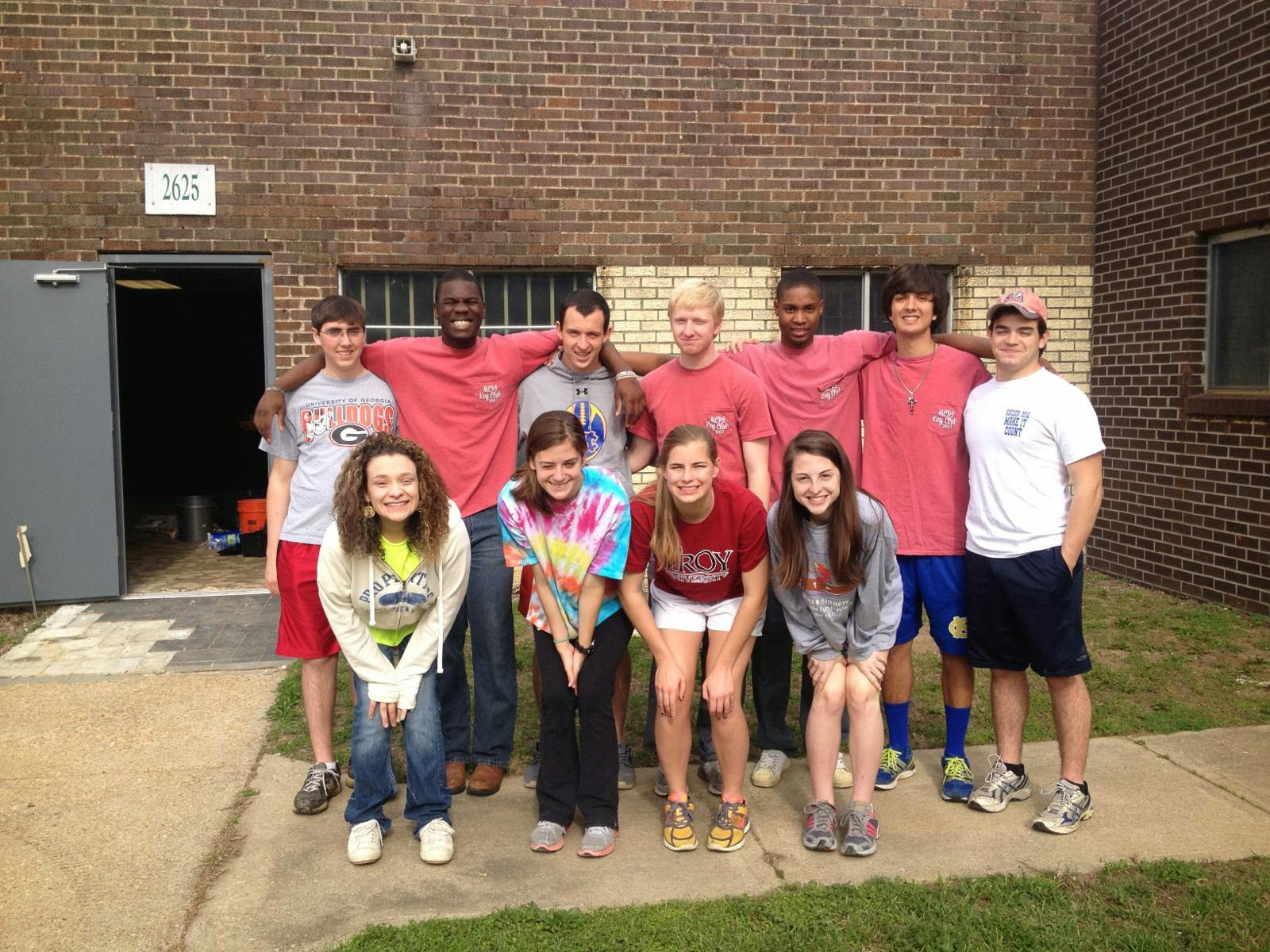 MCPS Students Spend a Saturday Renovating for Transformation Montgomery 1