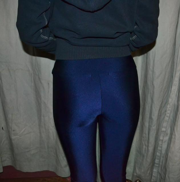 missguided disco leggings navy