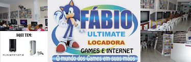 Locadora Fábio Ultimate Games & Internet