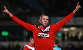 Jordan Rhodes, 60 goals in 105 games