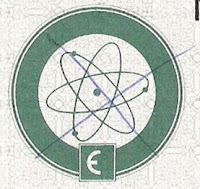 detail of Euratom logo on bond certificate
