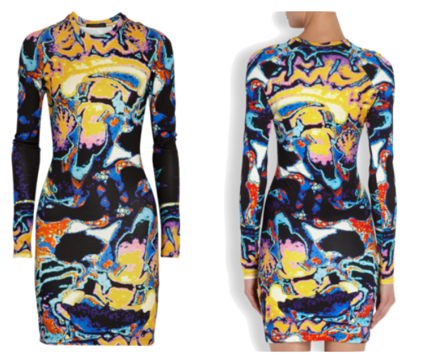 Christopher Kane Mri Scan Dress Kane MRI Brain Scan Dress