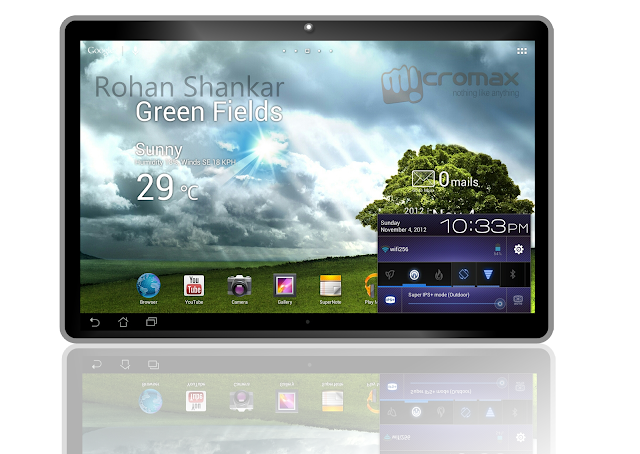 Quad-Core Tablet Micromax