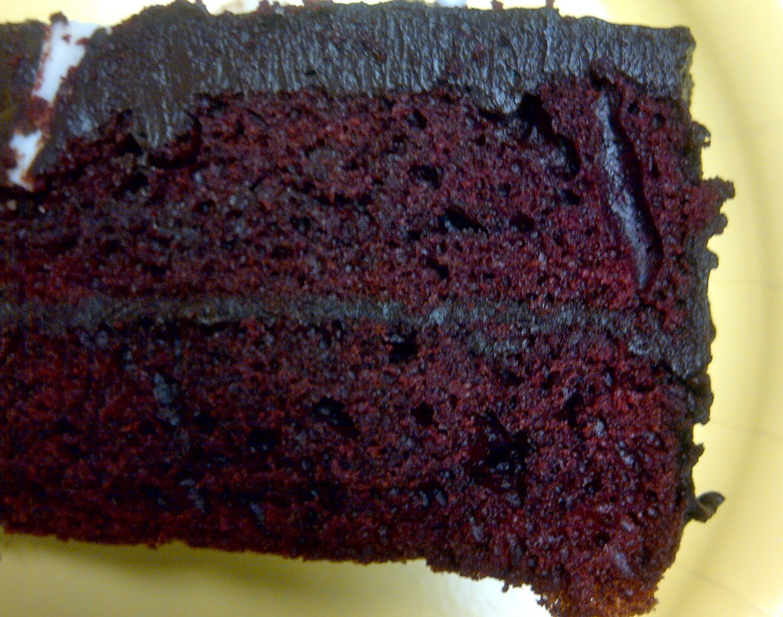 Chocolate's Not a Food Group?: Chocolate Ganache Red Velvet Cake