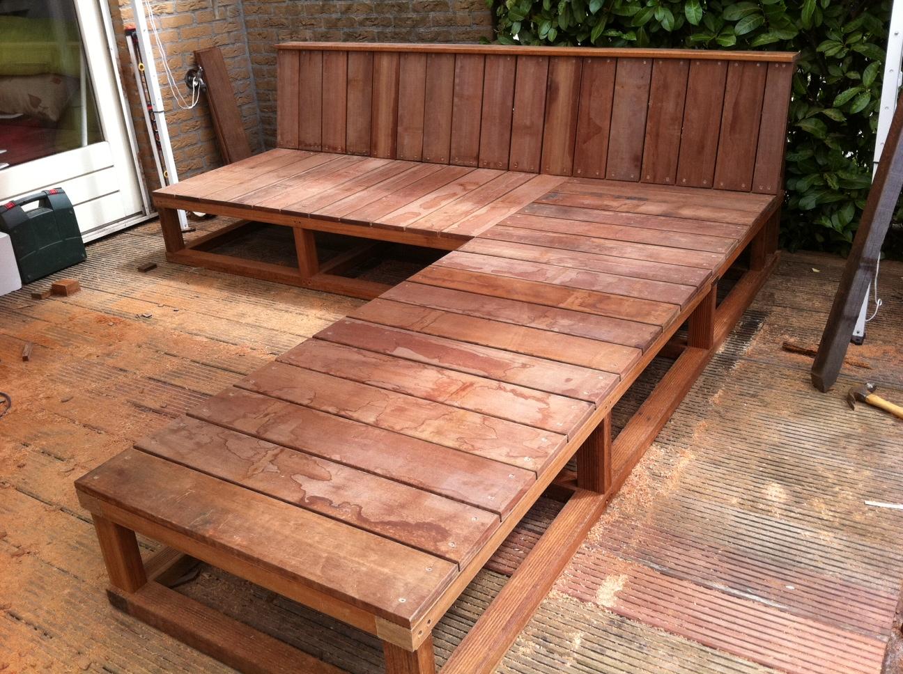 Bank Met Chaise Lounge  Buitenmeubels met lounges and garden loungers  Binnenkijken in bussum na