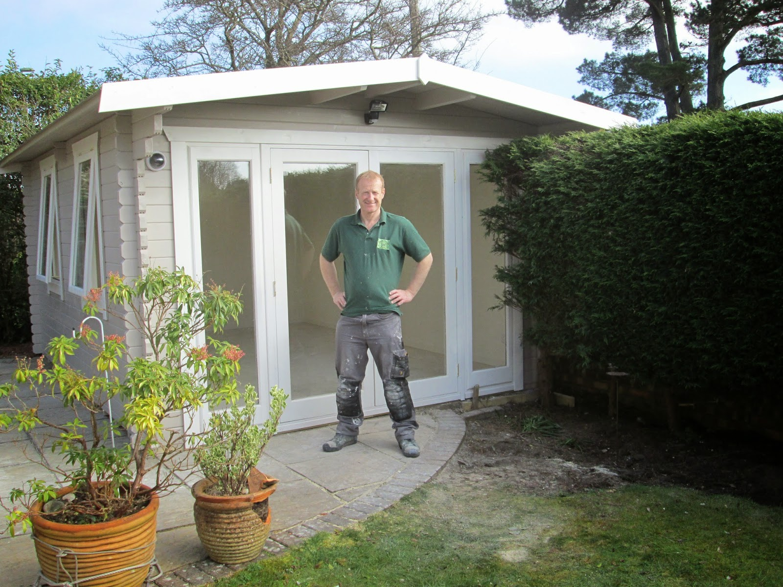 Southwick 39 s garden offices march 2015 for Garden room definition