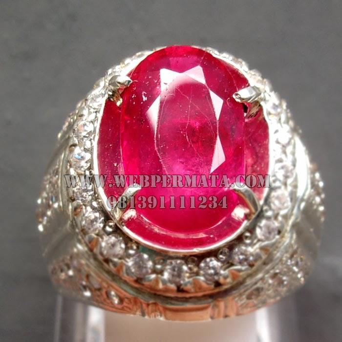 Cincin Batu Merah Ruby