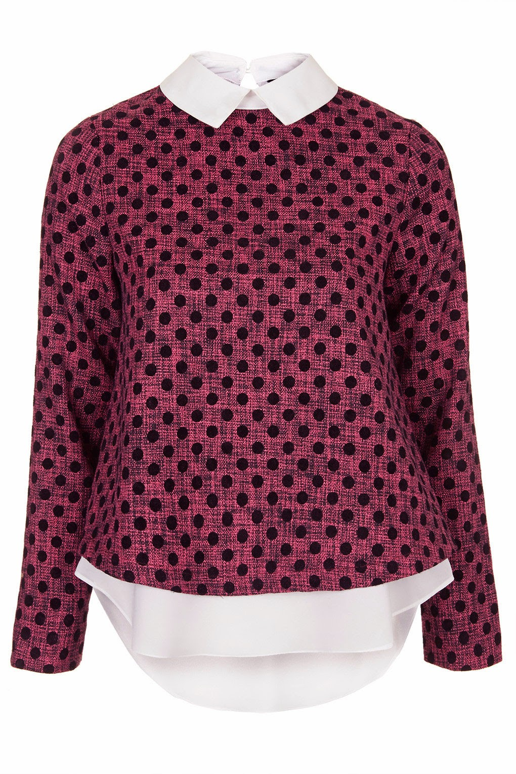 sister jane pink spotty top