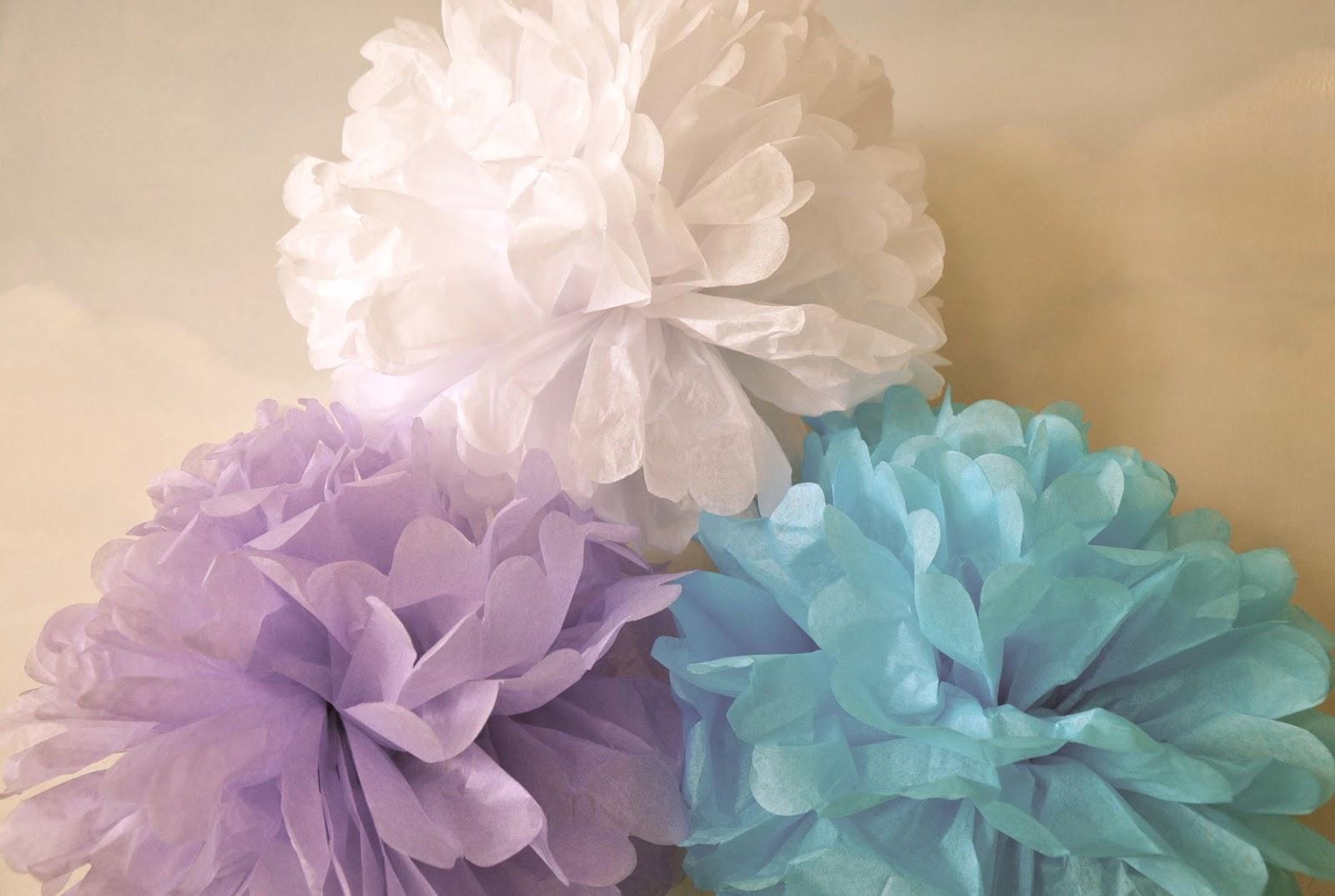 Traumblase pompoms einfach selbsgemacht for Pompoms kinderzimmer