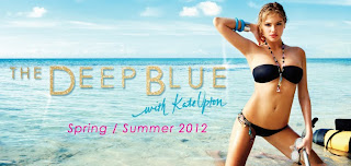 Kate Upton Bikini, Kate Upton Beach Bunny Swimwear, Kate Upton Deep Blue Spring