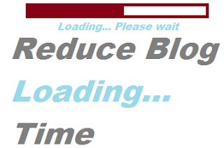 Reduce blog load time