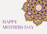 Purple and Yellow Flower Mothers Day Card