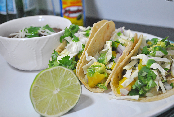 Tropical + Spicy Mahi-Mahi Cabo Tacos with El Yucateco
