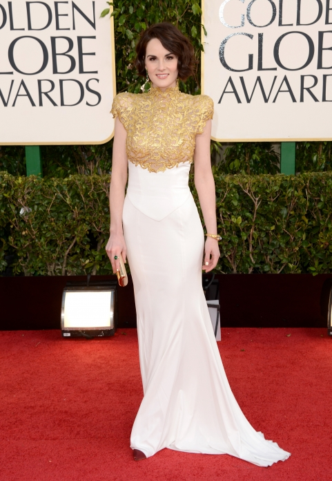Michelle Dockery, golden globes 2013
