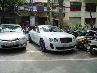 Bentley Continental GT en Vietnam
