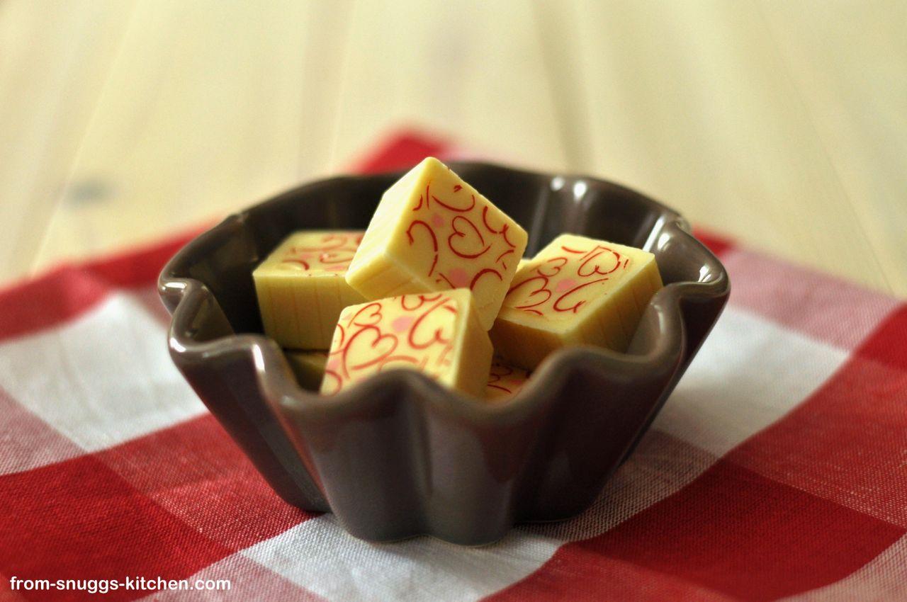 Mango-Joghurt-Praline
