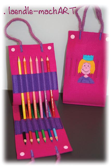 Tasche für Farben