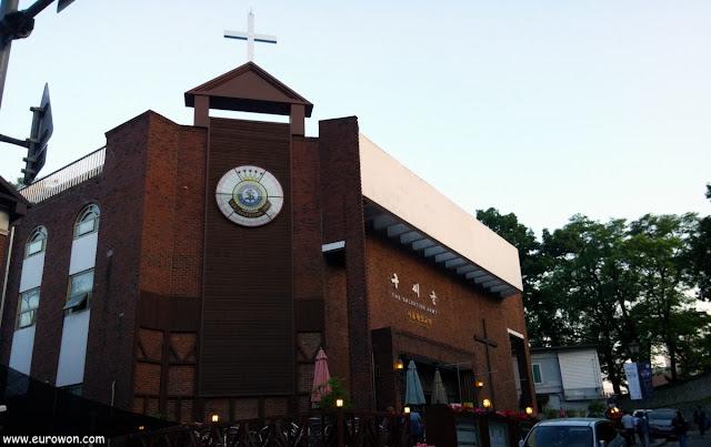 Primera sede de la Salvation Army en Seúl