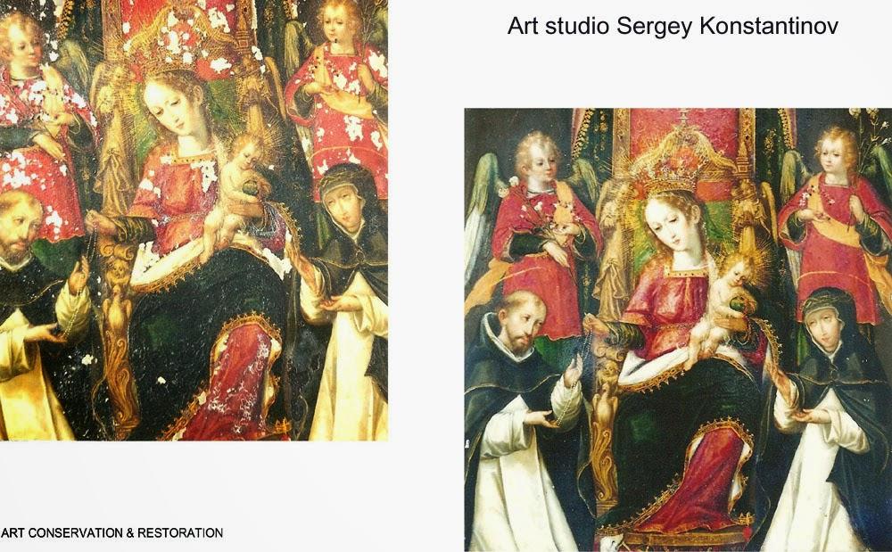 Painting Art Conservation & Restoration