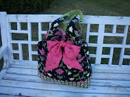 My Favorite Bag using Elizabeth&#39;s Letters fabrics.  Click the photo for instructions!