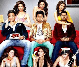 scene Grand Masti with Ritesh