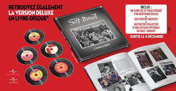 Golf-Drouot, le Temple du Rock en version deluxe