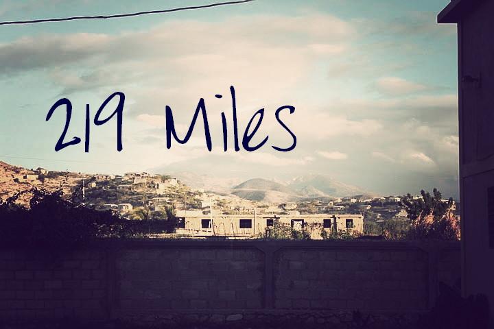 219 Miles