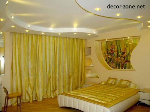 modern bedroom designs in a yellow white color combination. modern bedroom designs in a yellow color