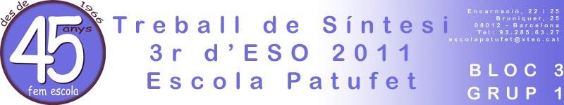 TS 3r d'ESO 1011 Bloc 3 - Grup 1