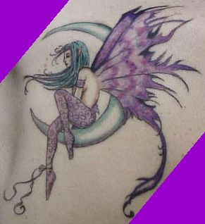 Fairy Tattoos on Chopper Tattoos  Angel And Fairy Tattoos For Girls