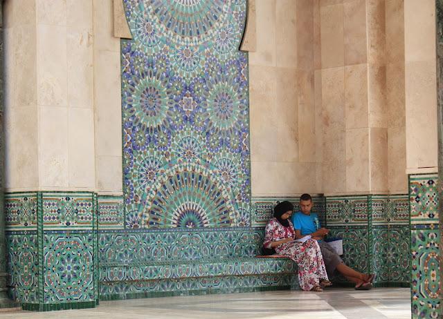 blog de viajes, Casablanca, Marruecos, Gran Mezquita, Hassan II, Escuela Coránica