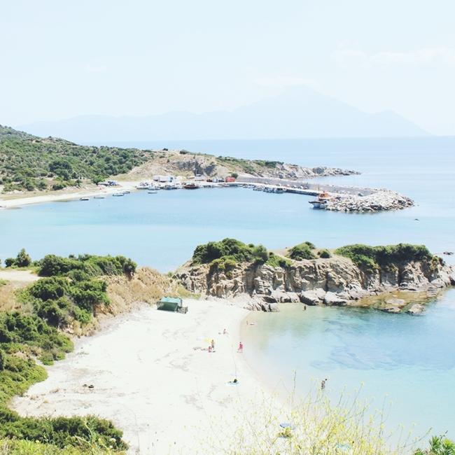 Jelena ZIvanovic Instagram @lelazivanovic.Glam fab week.Achlada beach Sithonia Greece.Ahlada plaza,Sitonija,Grcka.