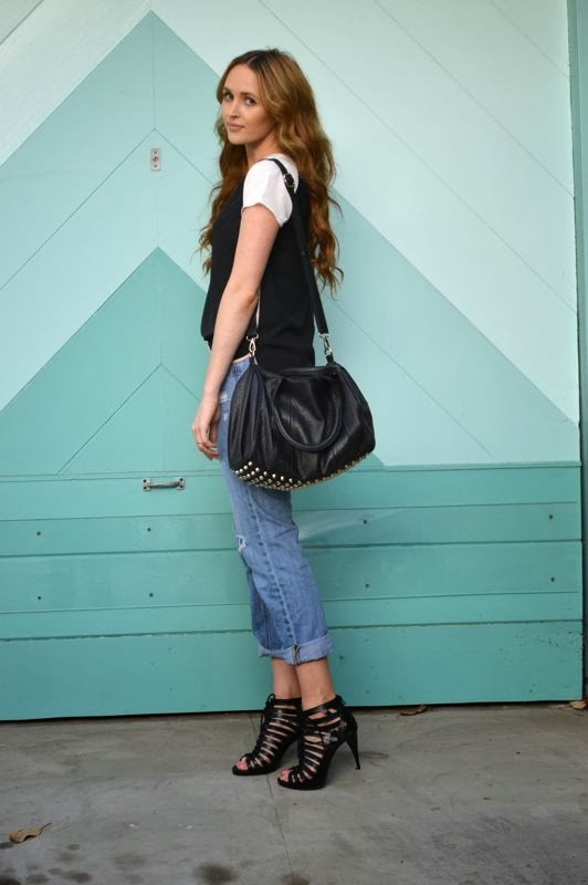 Target Style-LA personal style blogger-Fall Style-Boyfriend Jeans-Golden Divine Blog-Ashley Murphy
