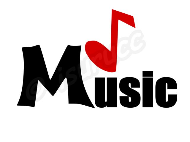 MUSIC  Black and Red Clip Art Illustrations.clip art depot,clipartzx